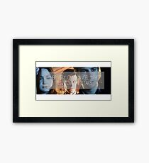 Doctor Who - Their Very Own Angel  Framed Print