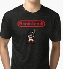 Benintendi sprite Tri-blend T-Shirt