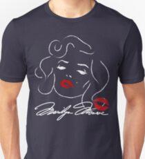 Marilyn Monroe - Norma Jean Baker - White for dark garments T-Shirt