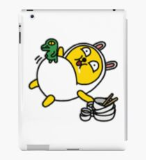 KakaoTalk Friends Muzi & Con (Stuffed) iPad Case/Skin