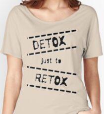 Detox Women's Relaxed Fit T-Shirt