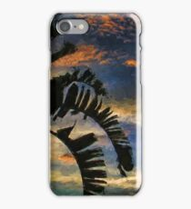 Palm Silhouette Sunset iPhone Case/Skin