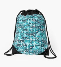 Shadowhunters Runes Mosaic Drawstring Bag