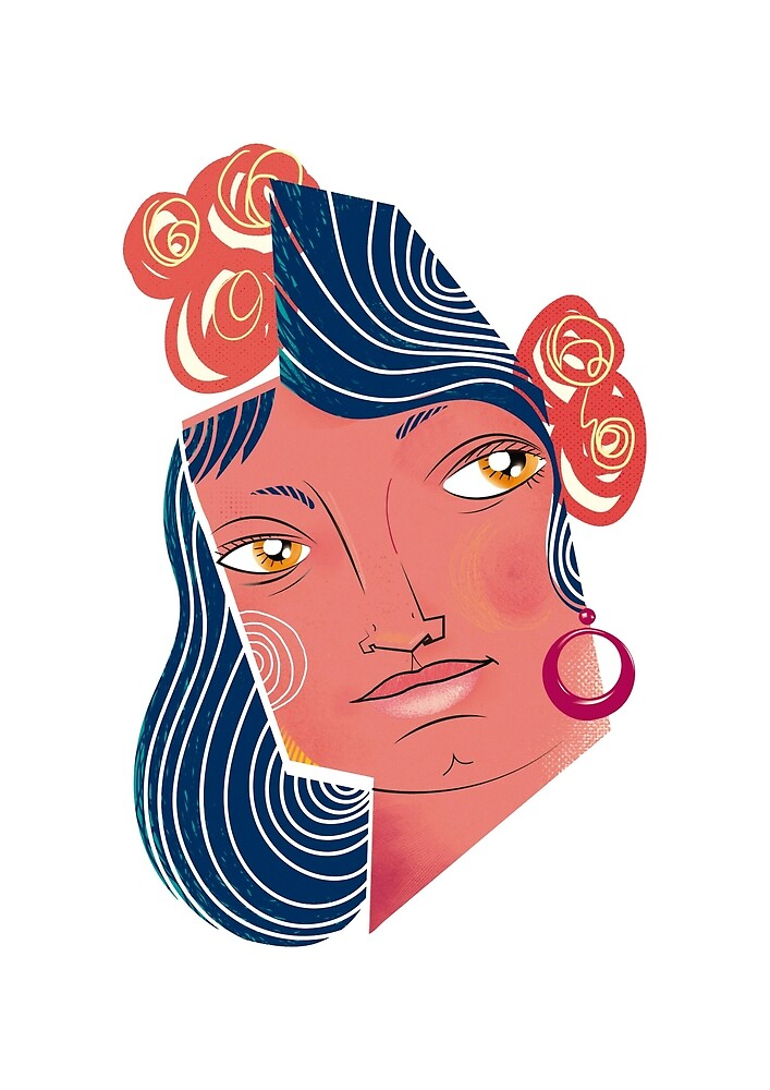 Flamenca by Elreygrafico