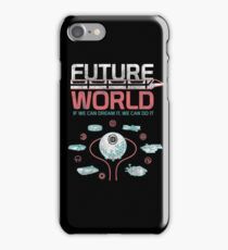 1982 EPCOT Center Future World Map iPhone Case/Skin