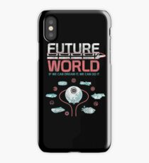 1982 EPCOT Center Future World Map iPhone Case
