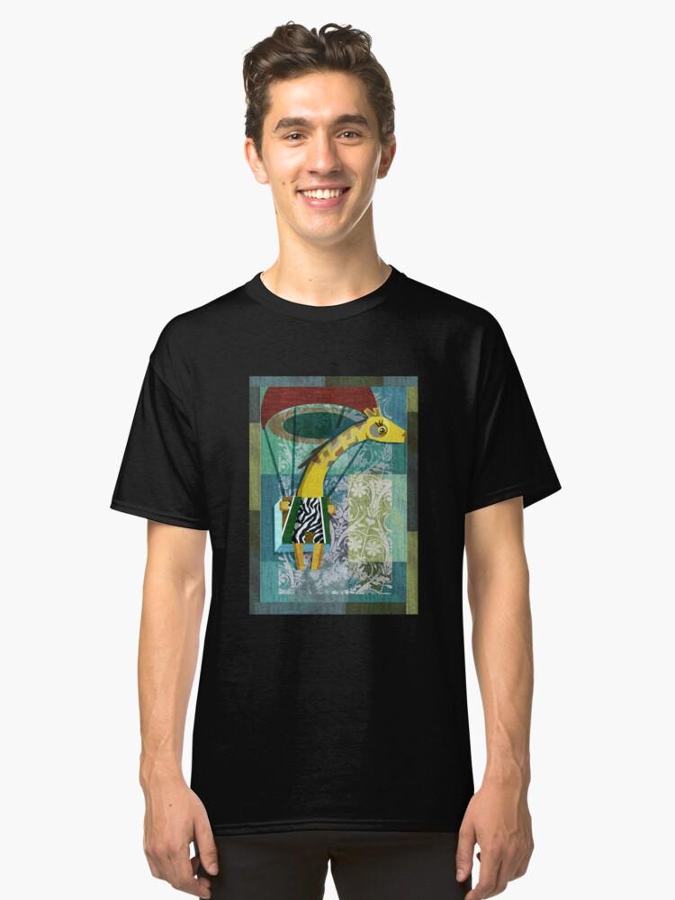 Flying Giraffe Classic T-Shirt Front