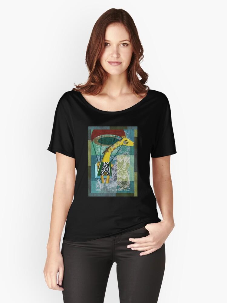 Flying Giraffe Women's Relaxed Fit T-Shirt Front