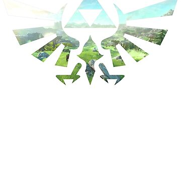 Zelda Triforce Tee by ClassicClothing