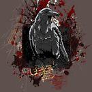 The Crow - Grunge Vintage Artwork by Denis Marsili
