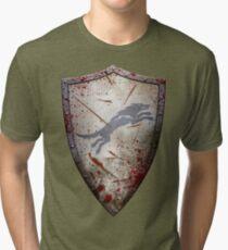 Stark Shield - Battle Damaged Tri-blend T-Shirt