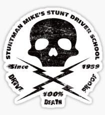 Stuntman Mike Stunt Driver School Sticker