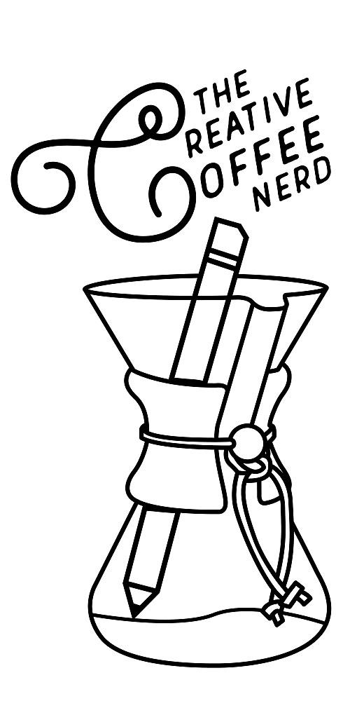 The Creative Coffee Nerd Logo by creativecoffee