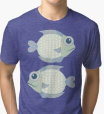 Two Cool Fish Tri-blend T-Shirt