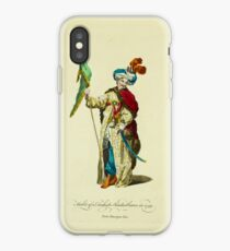 Habit of a Turkish standardbearer in 1749 Porte-Enseigne Turc 276 iPhone Case