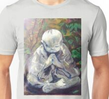 Blessing--Monk Statue Unisex T-Shirt