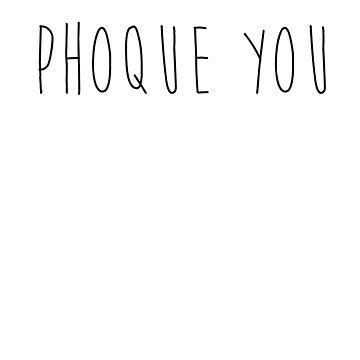 Phoque You by Hozukimaru