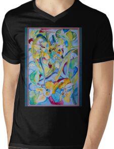 Orchid--Reveal Mens V-Neck T-Shirt