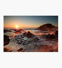 The Giant's Causeway , Co Antrim , Northern Ireland Photographic Print