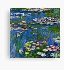 Claude Monet - Water Lilies (1916)  Canvas Print
