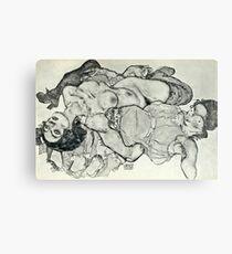 Egon Schiele - Zeichnungen VIII  (1915)  Canvas Print