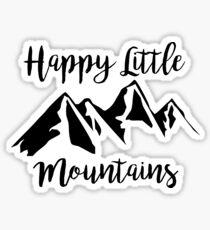 Happy Little Mountains (Bob Ross) Sticker