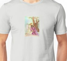 An Angel Ministers to Jesus  Unisex T-Shirt