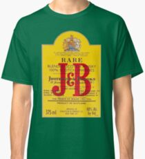 J&B Rare Scotch Whisky Blend Classic T-Shirt
