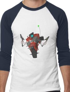 Badass Claptrap Sticker Men's Baseball ¾ T-Shirt