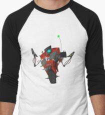 Badass Claptrap Sticker Men's Baseball ¾ T-Shirt
