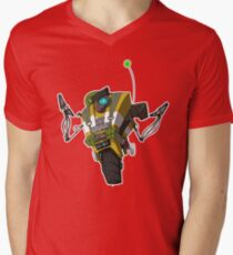 Soldier Claptrap Sticker Mens V-Neck T-Shirt