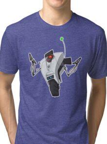 Portal Claptrap Sticker Tri-blend T-Shirt