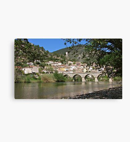 Roquebrun Canvas Print