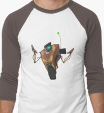 Jakob's Claptrap Sticker Men's Baseball ¾ T-Shirt