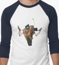 Jakob's Claptrap Sticker Men's Baseball ¾ T-Shirt