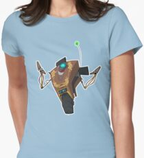 Jakob's Claptrap Sticker Womens Fitted T-Shirt