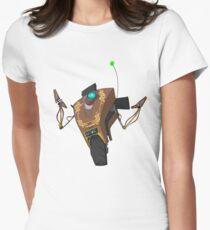 Jakob's Claptrap Sticker Womens Fitted T-Shirt