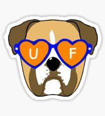 UNIVERSITY OF FLORIDA (UF) DOG Sticker