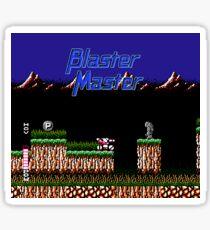 Blaster Master Fan Art Sticker