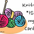 Knitting is my cardio! by KnitzyBlonde