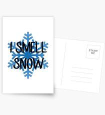 Ich rieche Schnee - Lorelai Gilmore Postkarten