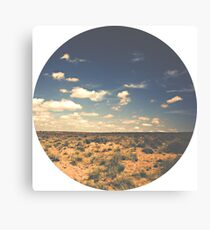 Wide Open West Sand Sun and Sage Canvas Print