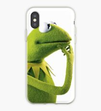 Kermit Contemplating, an aesthetic iPhone Case