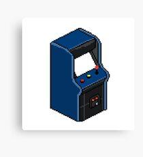 Pixel Arcade Canvas Print