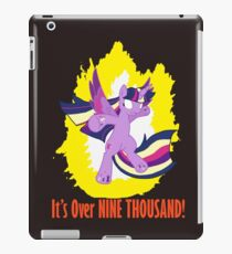 Twilight Sparkle Over 9000 iPad-Hülle & Klebefolie