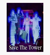 Save The Tower Photographic Print