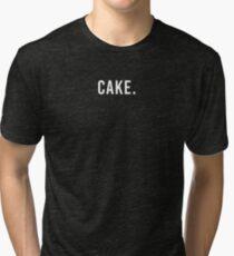 CAKE. Tri-blend T-Shirt