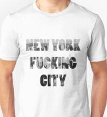 Camiseta unisex Nueva York Fucking City
