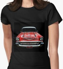 Rockabilly Racer Womens Fitted T-Shirt