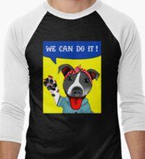 Lu the Riveter! Men's Baseball ¾ T-Shirt